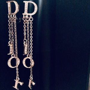 Authentic DIOR flawless adjustable clip earrings.